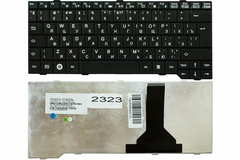 """Клавиатура Fujitsu 13.3"""" Amilo V6505 V6515 V6545 Si3650 Si3655 X9510 X9515 X9525 черная"""