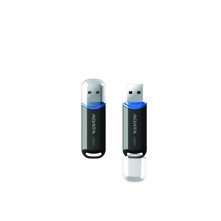 USB накопитель Adata C906 8GB Black