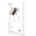 Беспроводной Внешний Аккумулятор Baseus Thin 10000mAh Розовый